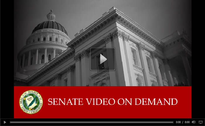 Senate Education Committee, August 3, 2016